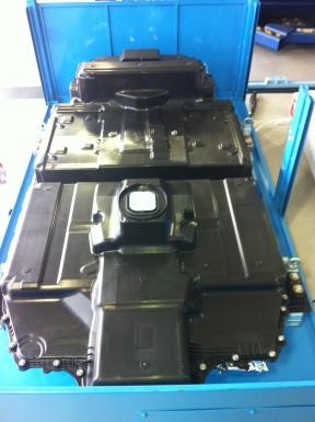 Honda Fit EV Battery Pack, approximately 4'x7'